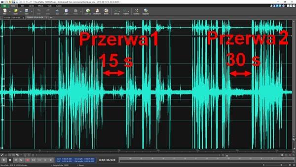 Dyktafon z aktywacją głosem