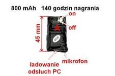 mikro dyktafon ks-140