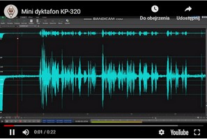 Zapis nagrania KP-320